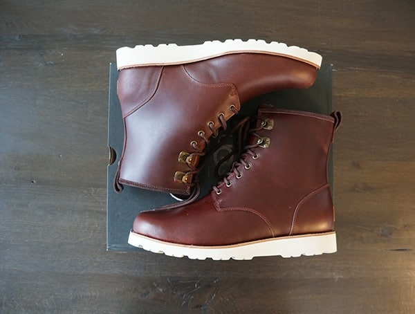Leather Ugg Hannen Tl Mens Boots
