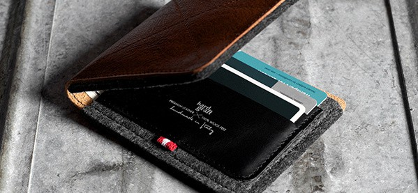 Leather Wallet For Gentlemen