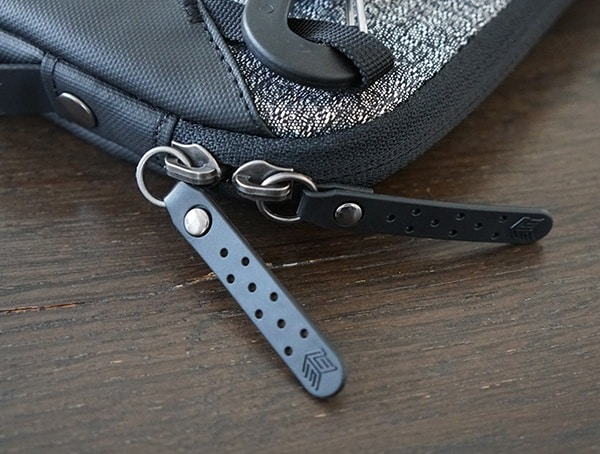Leather Zipper Pull Details Smarter Than Most Myth Laptop Sleeve