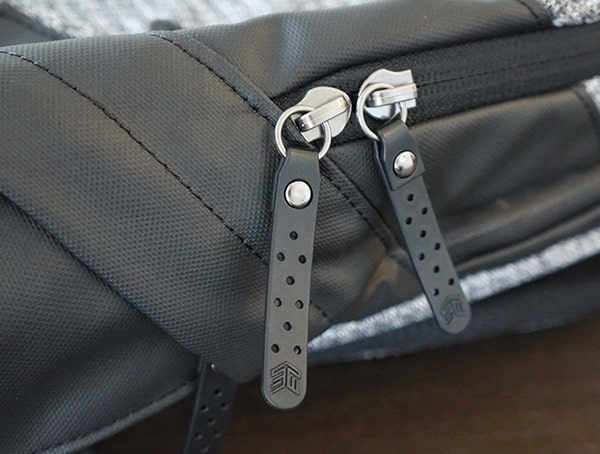 Leather Zipper Pulls Smarter Than Most Myth Backpack