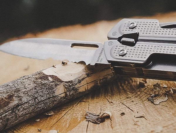 Leatherman Free P2 Multi Tool Review Carving Wood