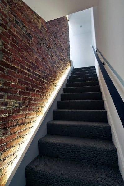 Led Baseboard Idea Inspiration Staircase Lighting Designs