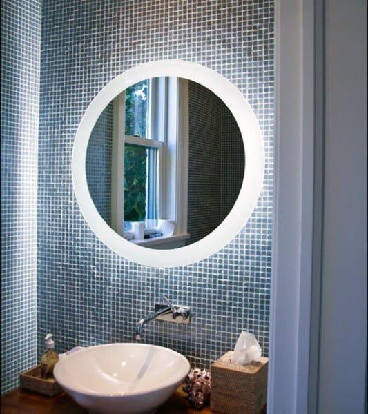 Led Bathroom Mirror Frame Ideas