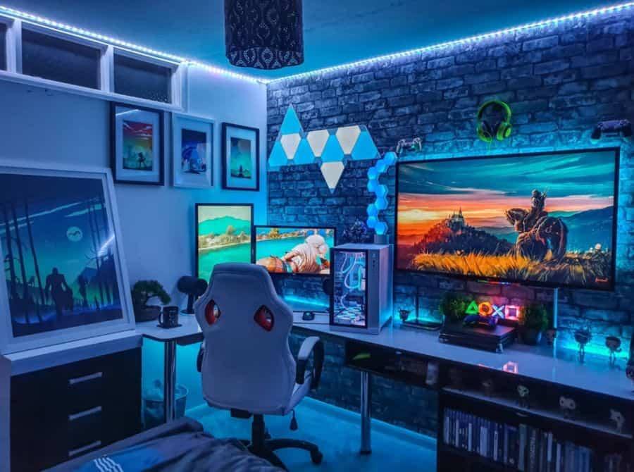 led desk setup ideas exalted_setups