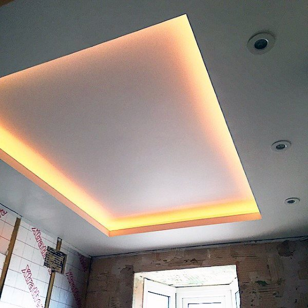 Led Drop Ceiling Contemporary Bathroom Ceiling Ideas