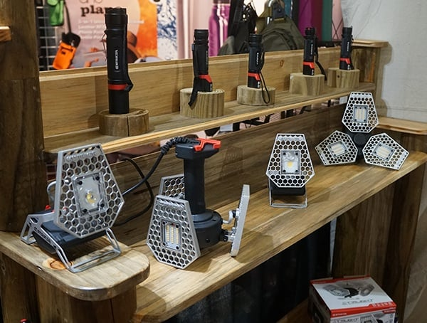 Led Flashlights For Camping With Unique Design
