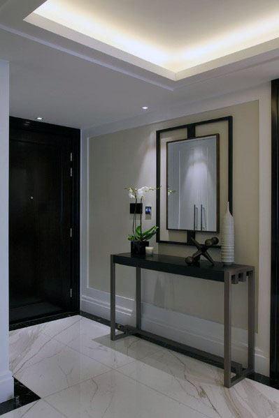 Led Hallway Trey Ceiling Crown Molding Lighting Design Ideas