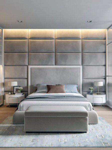 Led Light Strip Above Headboard Bedroom Lighting Design Inspiration