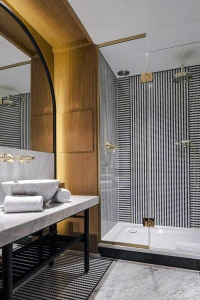 Led Lighting With Vintage Design Cool Bathrooms Ideas