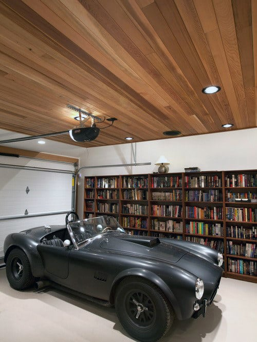 50 Garage Lighting Ideas For Men Cool Ceiling Fixture