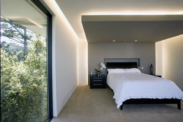 cove and ambient bedroom lighting ideas