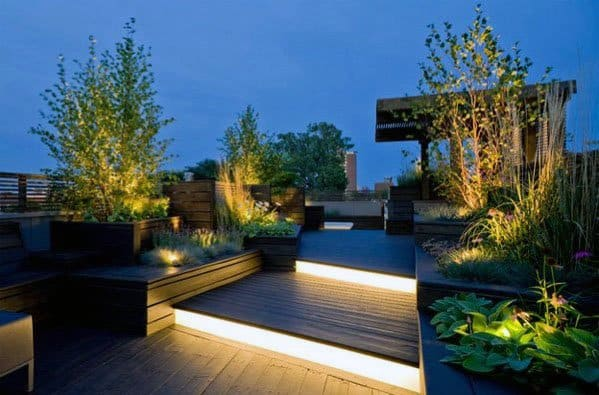 Led Steps Designs Deck Lighting