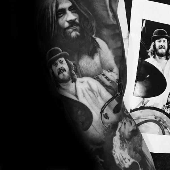 Led Zeppelin Mens Tattoo Ideas