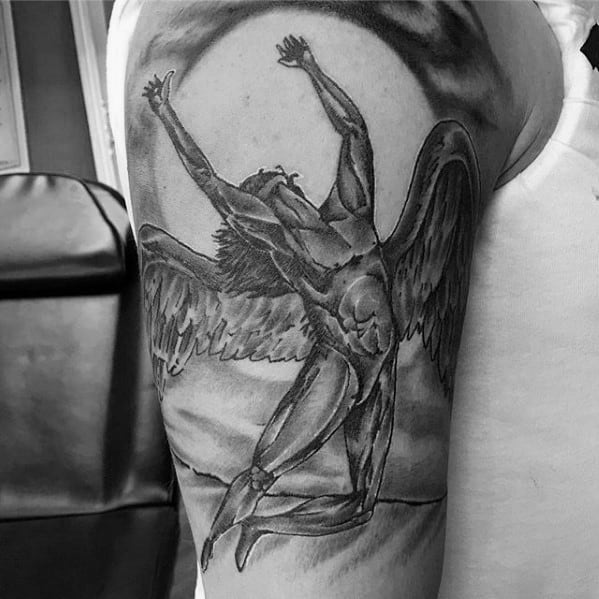 Led Zeppelin Tattoo Design Ideas For Males