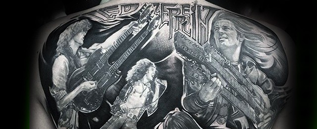 Led Zeppelin Tattoos For Men