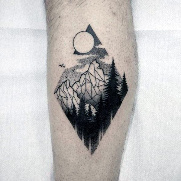 Tattoo Ideas Geometric: 50 Small Geometric Tattoos For Men