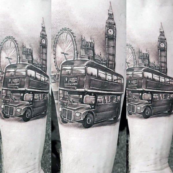 Leg Guys Big Ben Tattoos