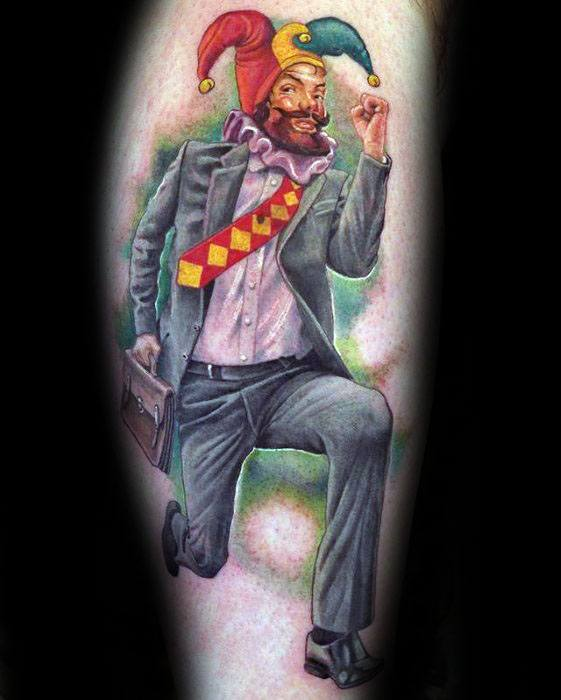 50 Jester Tattoo Designs For Men
