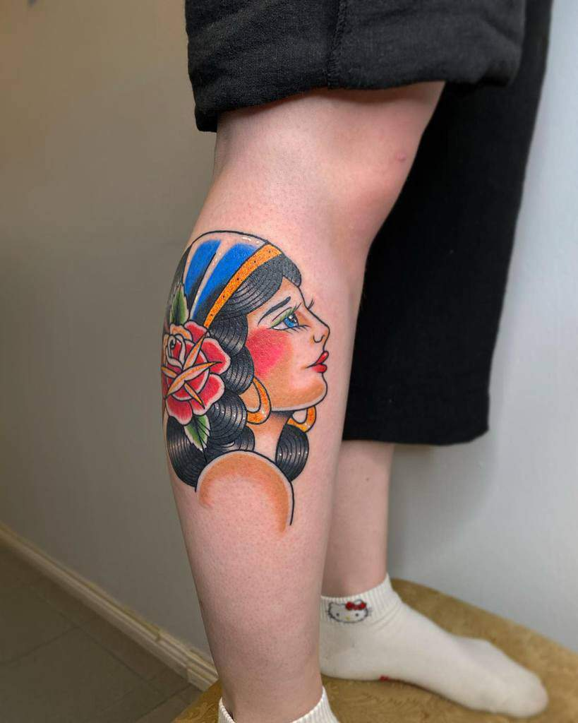 leg gypsy rose tattoos kurtisweavertattoo