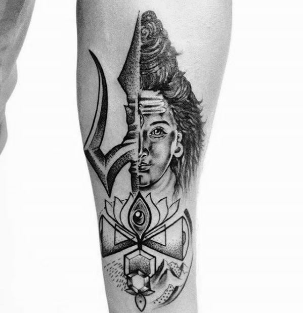 Tattoo Designs Shiva: 60 Shiva Tattoo Designs For Men