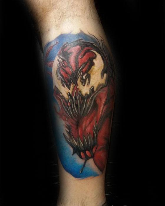50 Carnage Tattoo Designs For Men Comic Book