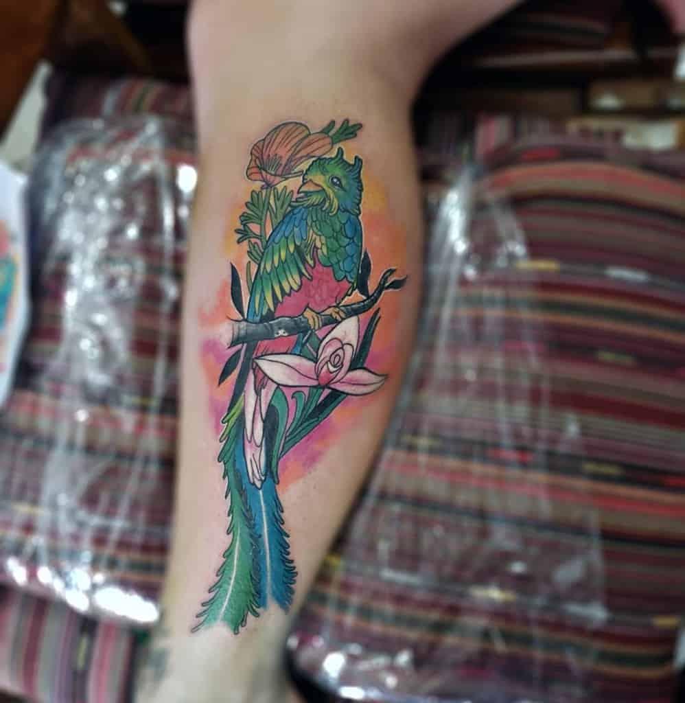 Leg Quetzal Tattoos Rob Ink Art