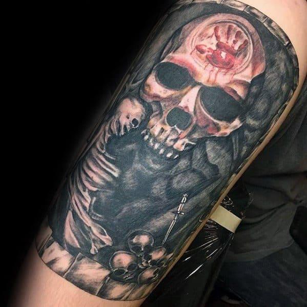 Top 43 Skyrim Tattoo Ideas [2020 Inspiration Guide]