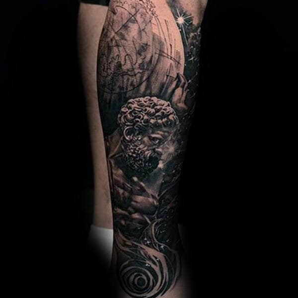 70 atlas tattoo designs for men manly greek ink ideas. Black Bedroom Furniture Sets. Home Design Ideas