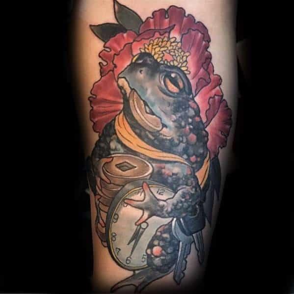 Leg Toad Guys Tattoos