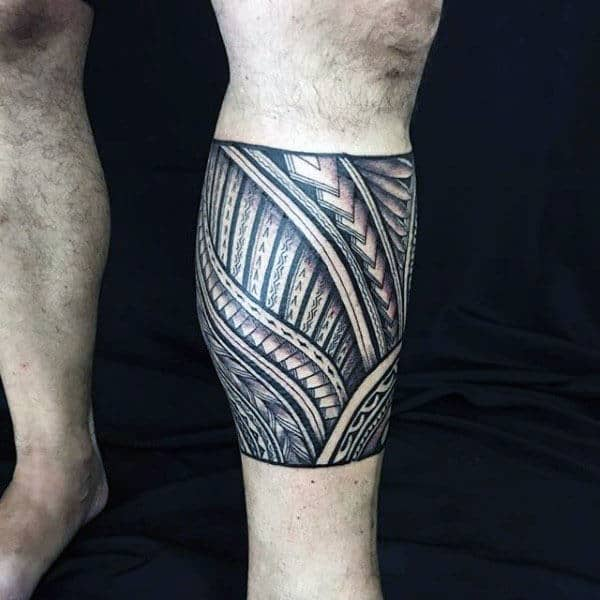 Tattoo Designs Legs: 60 Tribal Leg Tattoos For Men