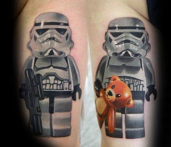 Lego Guys Tattoo Ideas