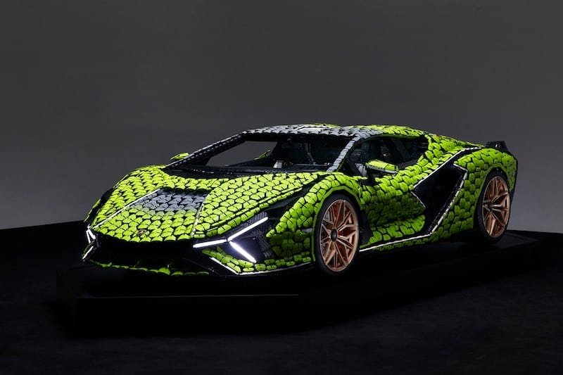 Check Out This Epic Life-Size Lego Lamborghini Sián