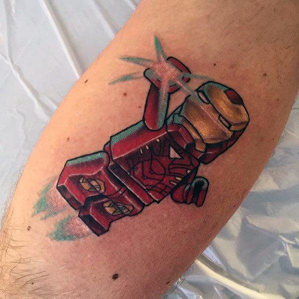 Lego Male Tattoos