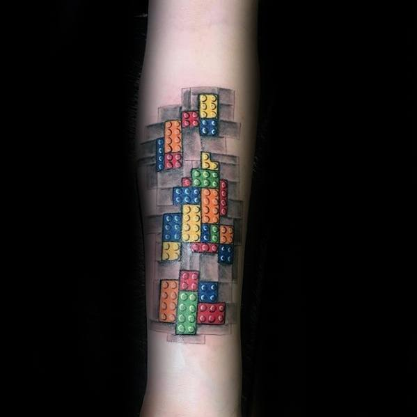 Lego Tattoo Designs For Guys