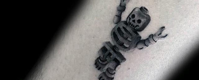 Lego Tattoo Designs For Men