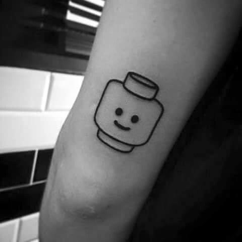 Lego Tattoos Male