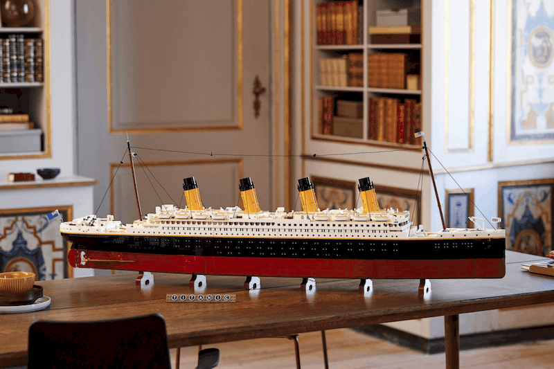 Revive the Titanic With LEGO's 9,090 Piece Model