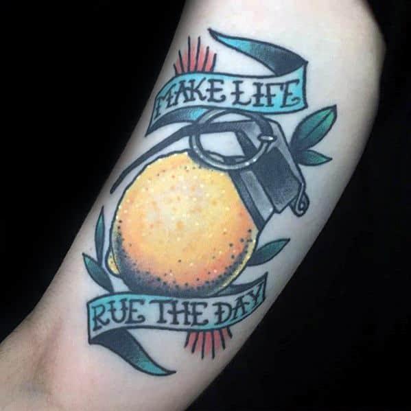 Lemon Guys Tattoo Ideas
