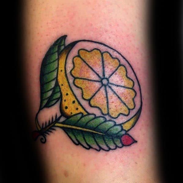 Lemon Male Tattoos