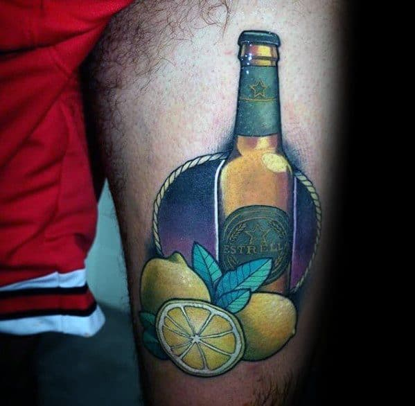 Lemon Tattoo Design Ideas For Males