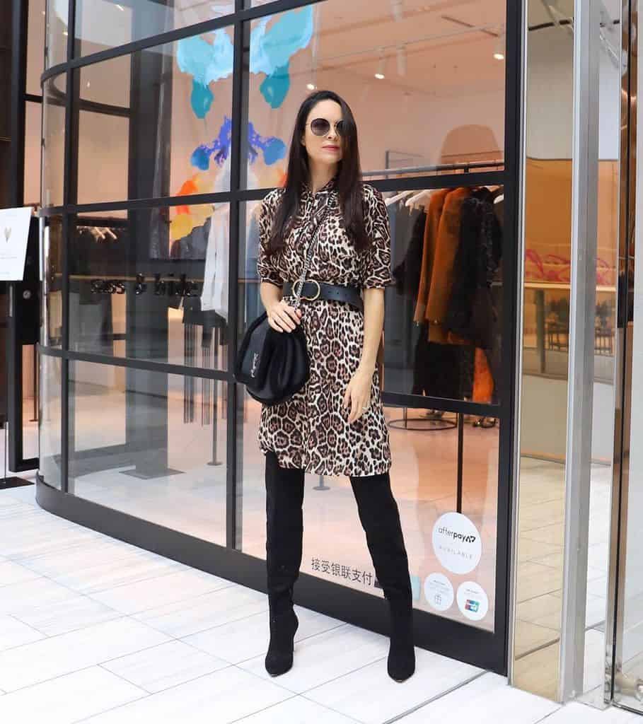 Leopard Dress Fashion Style
