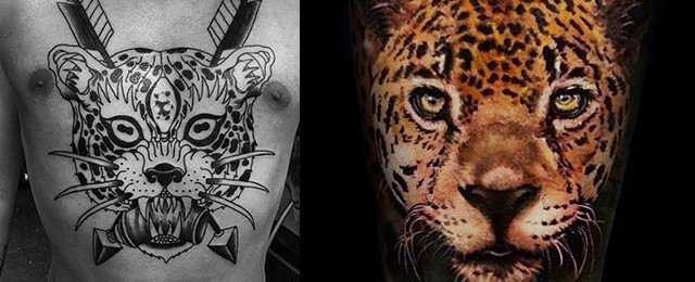 Leopard Tattoos For Men