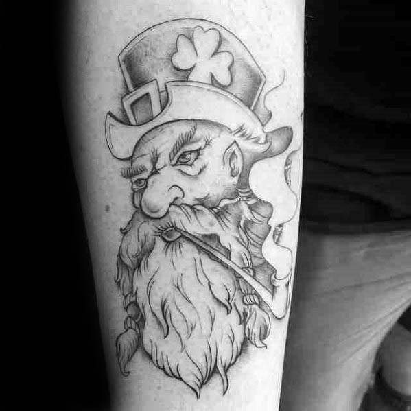 Leprechaun Guys Tattoo Designs