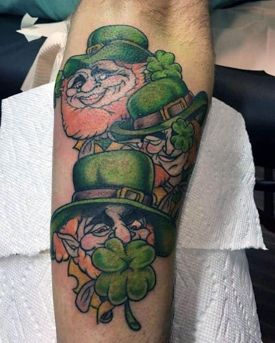 Leprechaun Tattoo Design Ideas For Males
