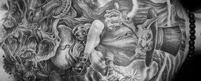 50 Leprechaun Tattoo Designs For Men – Irish Folklore Ink Ideas