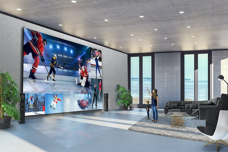 LG's $1.7 Million 325 Inch 8K TV Provides Full-Wall Entertainment