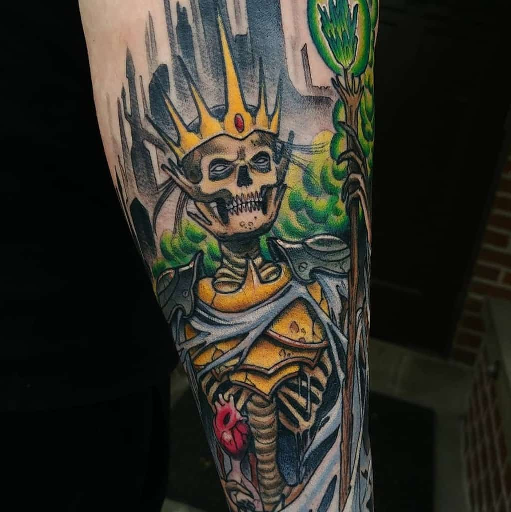 Lich Dungeons And Dragons Tattoos Prick.simmons