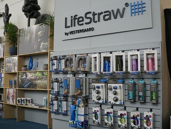 Lifestraw Display Outdoor Retailer Winter Market 2018
