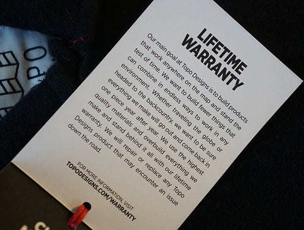 Lifetime Warranty Topo Designs Wool Shirt For Guys