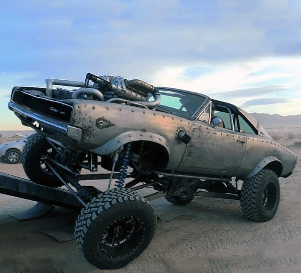 Lifted 4×4 Badass Rat Rods